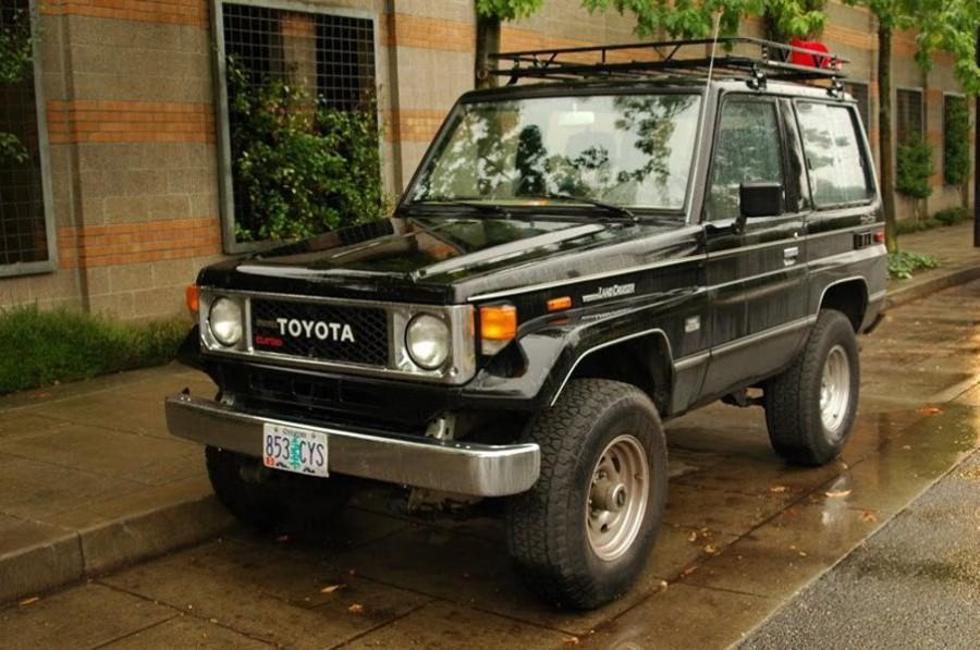 Toyota Land Cruiser BJ70 внедорожник 3-дв., 1984–1990, J70, 3.4 MT J70 (98 л.с.), характеристики