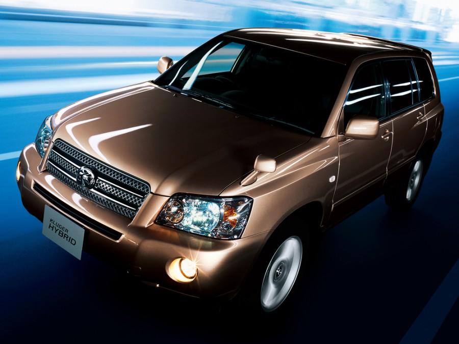 Toyota Kluger Hybrid внедорожник 5-дв., 2003–2007, XU20 [рестайлинг] - отзывы, фото и характеристики на Car.ru