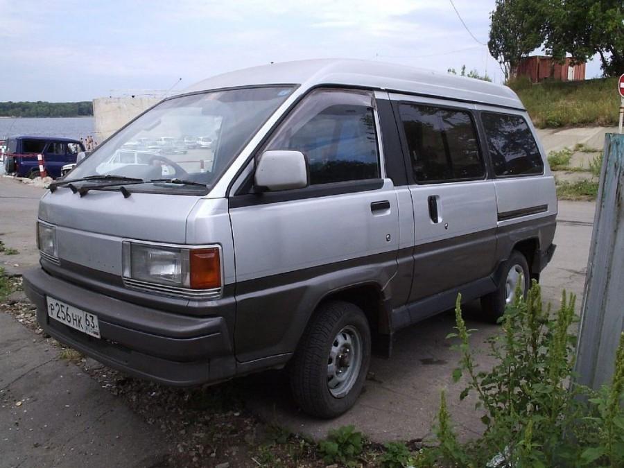 Toyota Lite Ace минивэн, 1986–1990, 3 поколение - отзывы, фото и характеристики на Car.ru