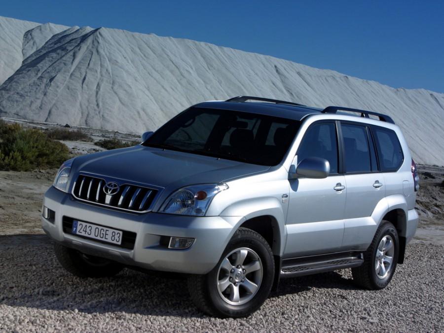 Toyota Land Cruiser Prado внедорожник 5-дв., 2002–2009, J120 - отзывы, фото и характеристики на Car.ru