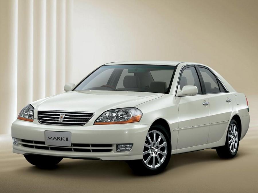 Toyota Mark II седан, 2000–2007, X110 - отзывы, фото и характеристики на Car.ru