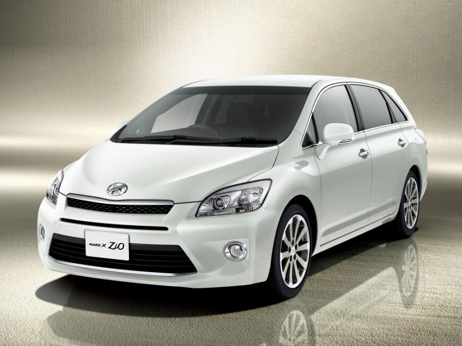 Toyota Mark X Zio минивэн, 2011–2016, 1 поколение [рестайлинг] - отзывы, фото и характеристики на Car.ru
