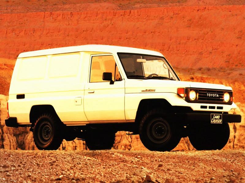 Toyota Land Cruiser J75 Van фургон, 1984–1990, J70 - отзывы, фото и характеристики на Car.ru