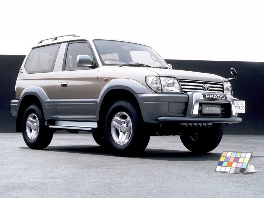 Toyota Land Cruiser Prado внедорожник 3-дв., 1996–2000, J90 - отзывы, фото и характеристики на Car.ru