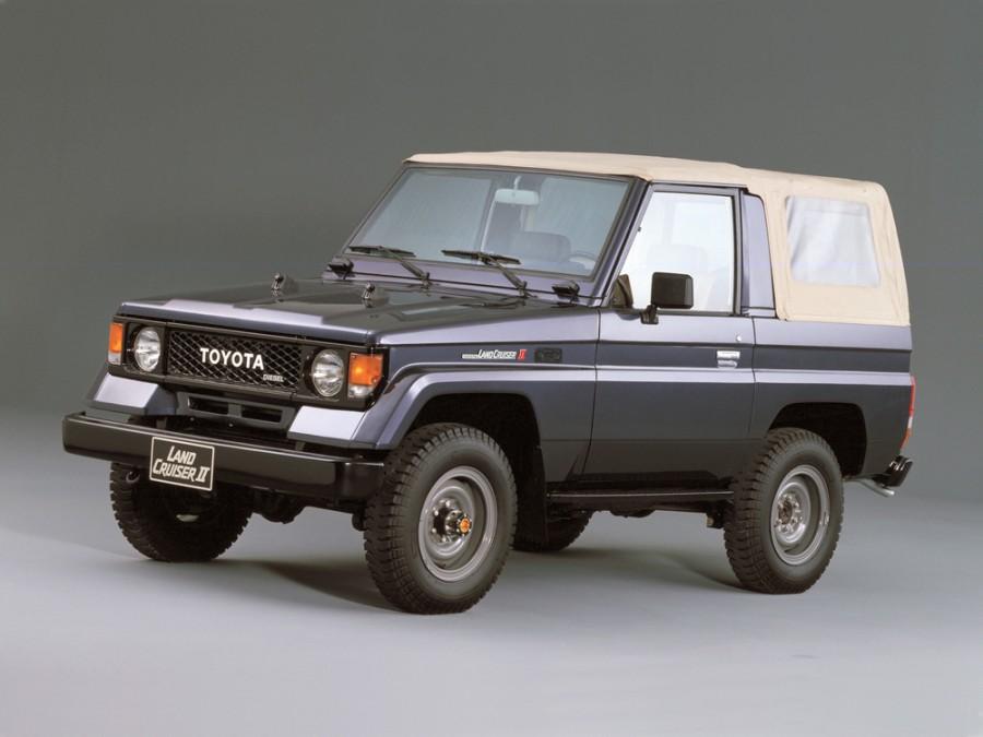 Toyota Land Cruiser BJ70 кабриолет 2-дв., 1984–1990, J70 - отзывы, фото и характеристики на Car.ru