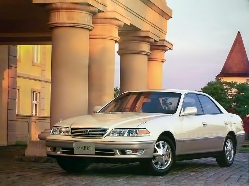 Toyota Mark II седан, 1996–1998, X100 - отзывы, фото и характеристики на Car.ru