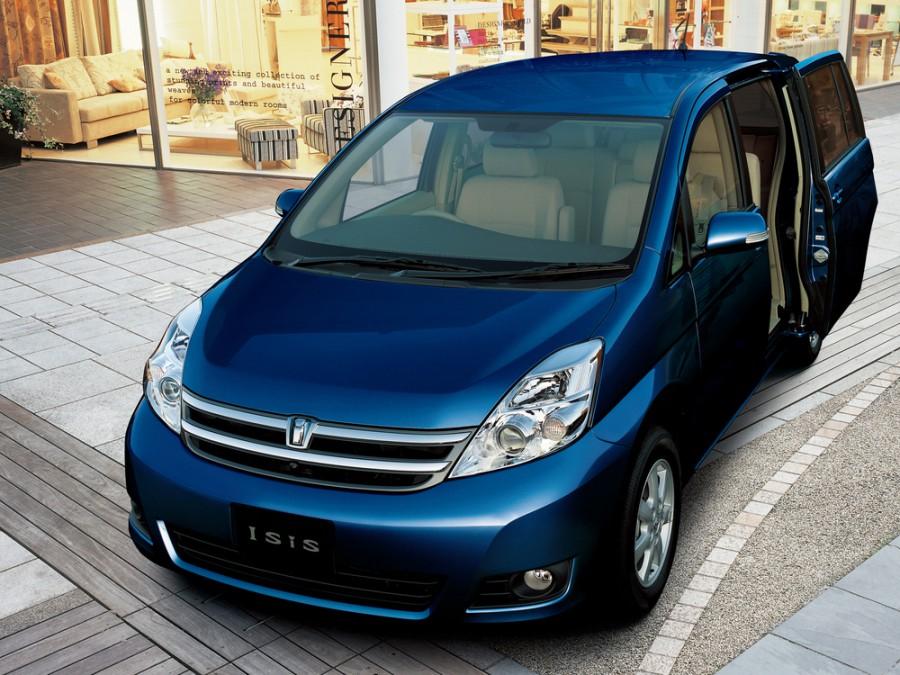 Toyota Isis минивэн, 2007–2011, 1 поколение [рестайлинг] - отзывы, фото и характеристики на Car.ru