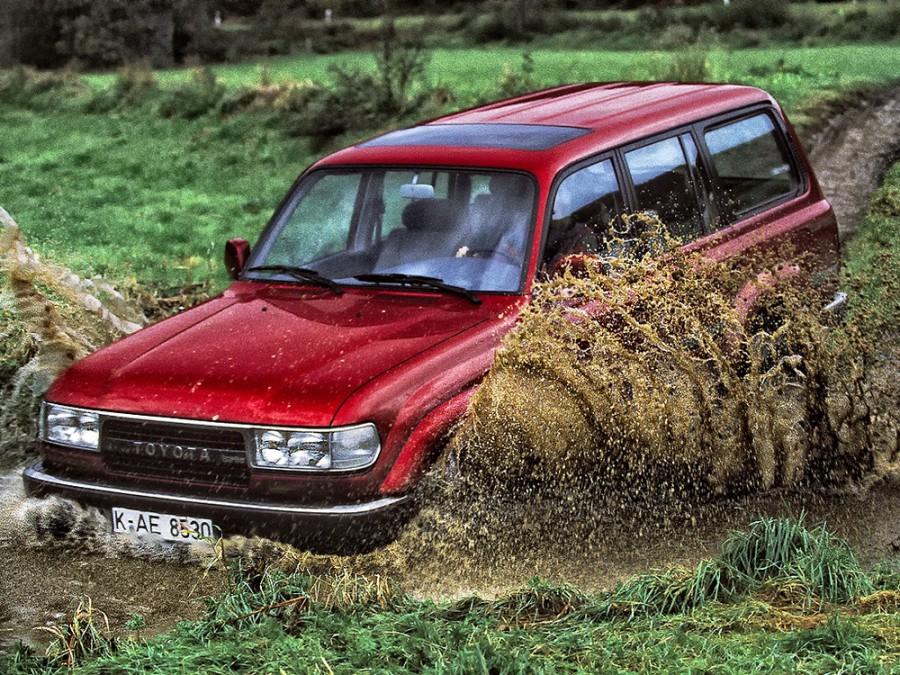 Toyota Land Cruiser внедорожник 5-дв., 1989–1997, J80 - отзывы, фото и характеристики на Car.ru