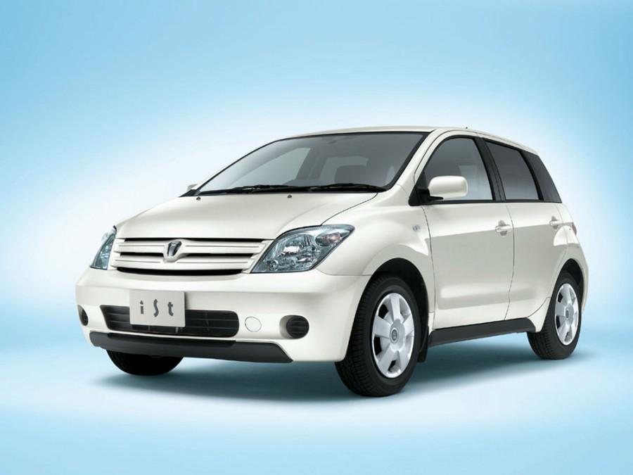 Toyota ist хетчбэк, 2002–2005, 1 поколение - отзывы, фото и характеристики на Car.ru