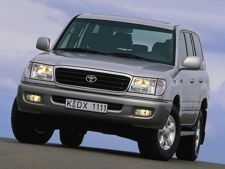 Toyota Land Cruiser внедорожник, 1998–2002, J100 - отзывы, фото и характеристики на Car.ru