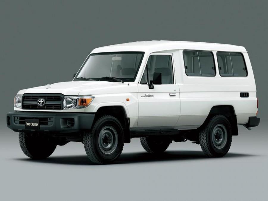 Toyota Land Cruiser J78 внедорожник 3-дв., 2007–2016, J70 [3-й рестайлинг] - отзывы, фото и характеристики на Car.ru