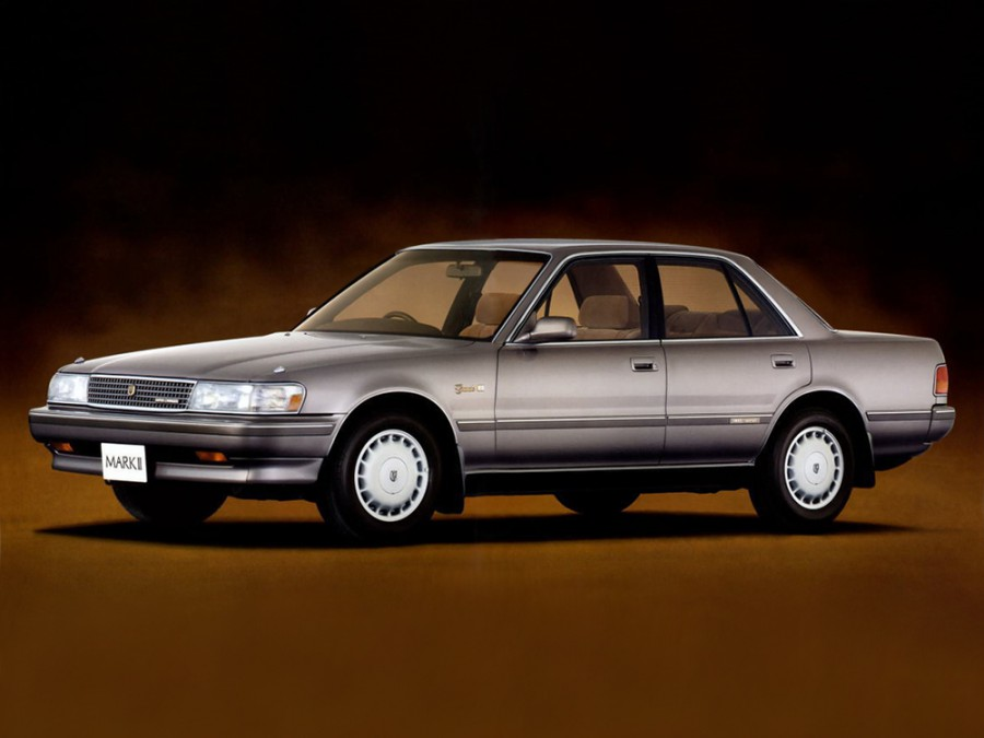 Toyota Mark II седан, 1988–1996, Х80 - отзывы, фото и характеристики на Car.ru
