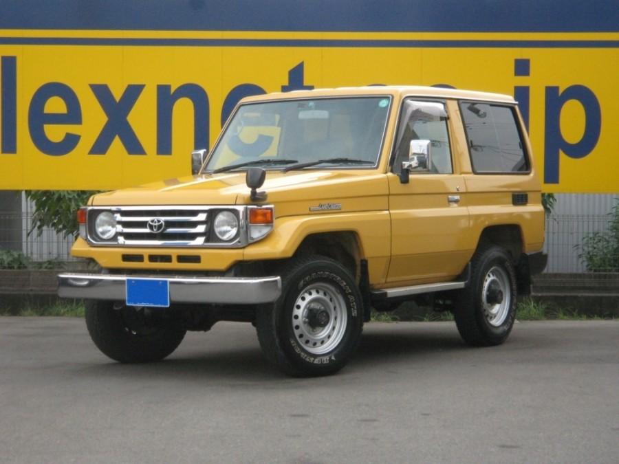 Toyota Land Cruiser J71 внедорожник 3-дв., 1999–2007, J70 [2-й рестайлинг] - отзывы, фото и характеристики на Car.ru