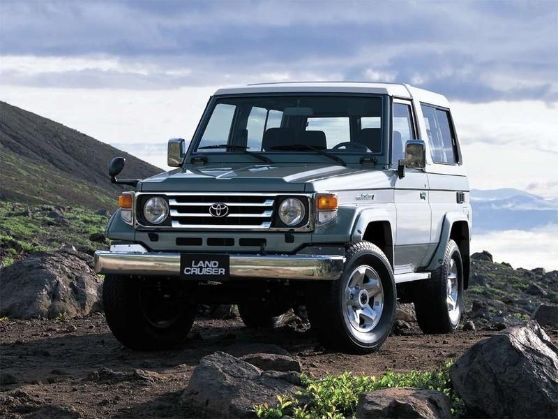 Toyota Land Cruiser J74V внедорожник 3-дв., 1999–2007, J70 [2-й рестайлинг] - отзывы, фото и характеристики на Car.ru