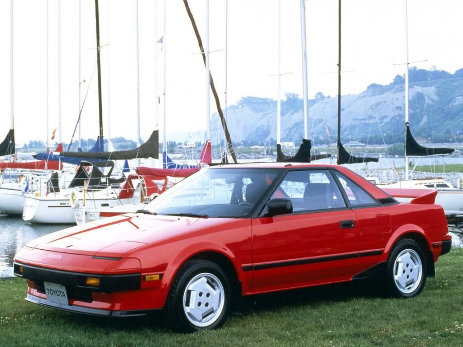 Toyota MR2 купе, 1984–1989, W10 - отзывы, фото и характеристики на Car.ru