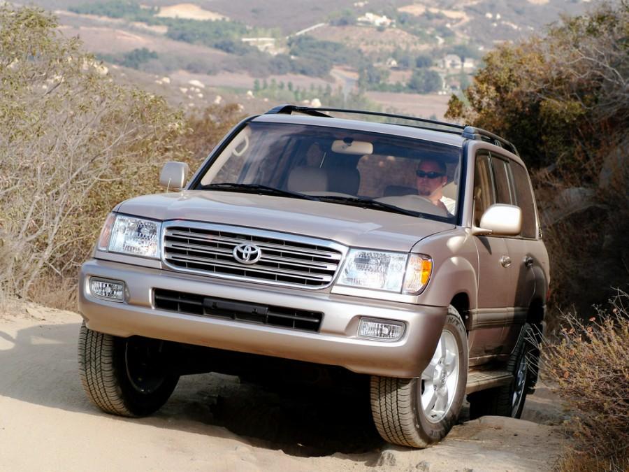 Toyota Land Cruiser внедорожник, 2003–2005, J100 [рестайлинг], 4.5 MT (224 л.с.), характеристики