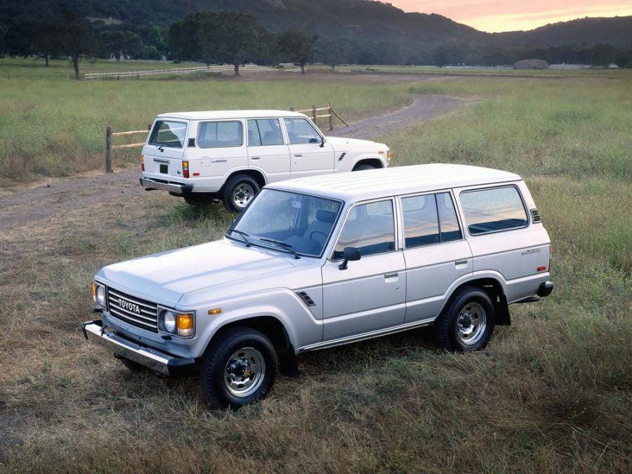 Toyota Land Cruiser внедорожник, 1980–1987, J60 - отзывы, фото и характеристики на Car.ru