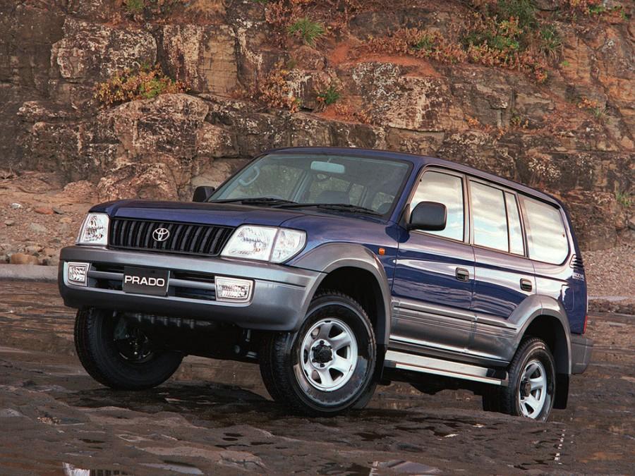 Toyota Land Cruiser Prado внедорожник 5-дв., 2000–2002, J90 [рестайлинг] - отзывы, фото и характеристики на Car.ru