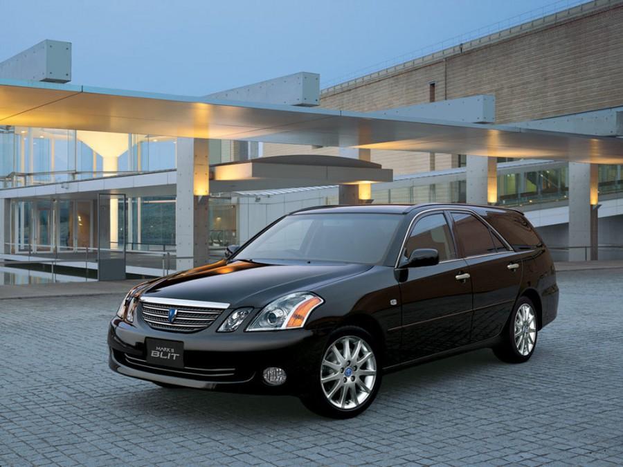 Toyota Mark II Blit универсал, 2000–2007, X110 - отзывы, фото и характеристики на Car.ru
