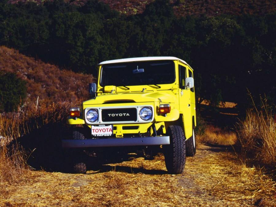 Toyota Land Cruiser FJ40V внедорожник 3-дв., 1960–1984, J40/J50, 3.9 MT AWD (130 л.с.), характеристики