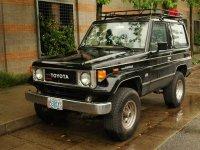 Toyota Land Cruiser, J70, Bj70 внедорожник 3-дв., 1984–1990