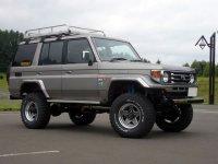 Toyota Land Cruiser, J70 [2-й рестайлинг], J76 внедорожник 5-дв., 1999–2007