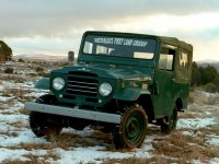 Toyota Land Cruiser, J20, Кабриолет, 1955–1960