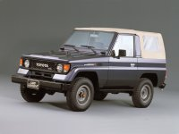 Toyota Land Cruiser, J70, Bj70 кабриолет 2-дв., 1984–1990