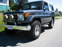 Toyota Land Cruiser, J70, Bj74v внедорожник 3-дв., 1984–1990