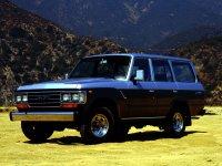 Toyota Land Cruiser, J60 [рестайлинг], Внедорожник, 1987–1990