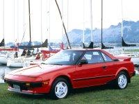 Toyota MR2, W10, Купе, 1984–1989