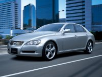 Toyota Mark X, 1 поколение [рестайлинг], Седан, 2007–2009