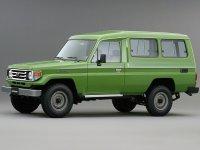 Toyota Land Cruiser, J70 [2-й рестайлинг], J78 внедорожник 3-дв., 1999–2007