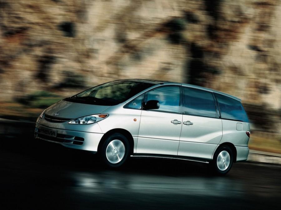 Toyota Previa минивэн, 2001–2004, XR30/XR40 - отзывы, фото и характеристики на Car.ru