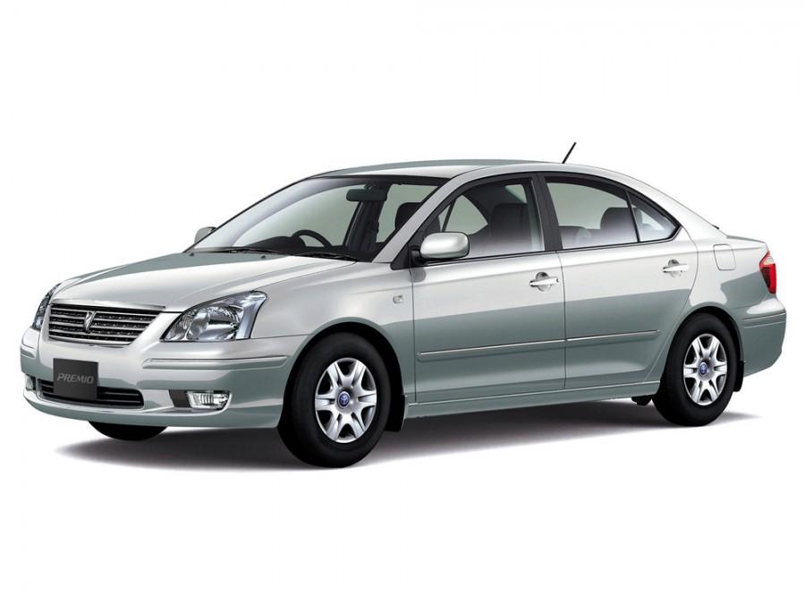 Toyota Premio седан, 2001–2004, 1 поколение - отзывы, фото и характеристики на Car.ru