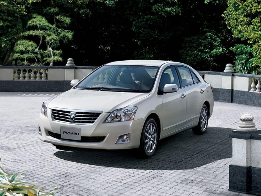 Toyota Premio седан, 2010–2016, 2 поколение [рестайлинг] - отзывы, фото и характеристики на Car.ru