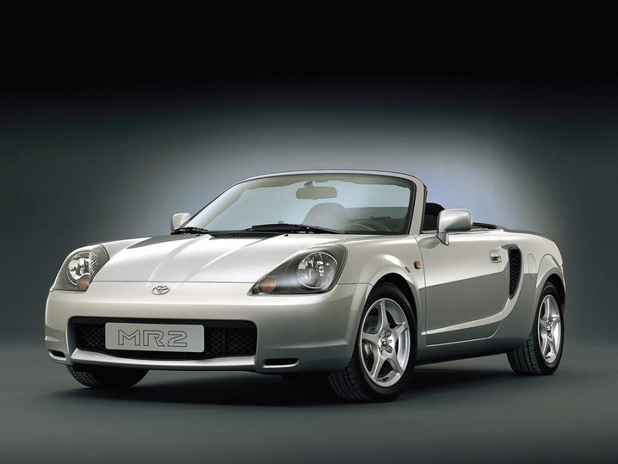 Toyota MR2 родстер, 2000–2002, W30 - отзывы, фото и характеристики на Car.ru