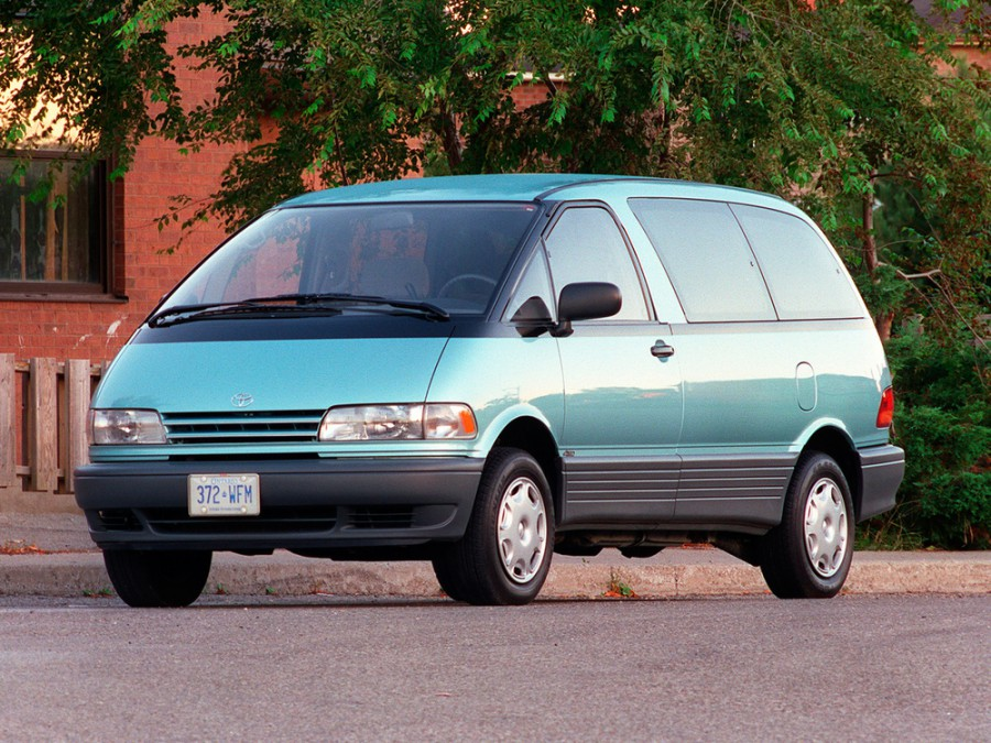 Toyota Previa минивэн, 1990–1999, XR10/XR20 - отзывы, фото и характеристики на Car.ru