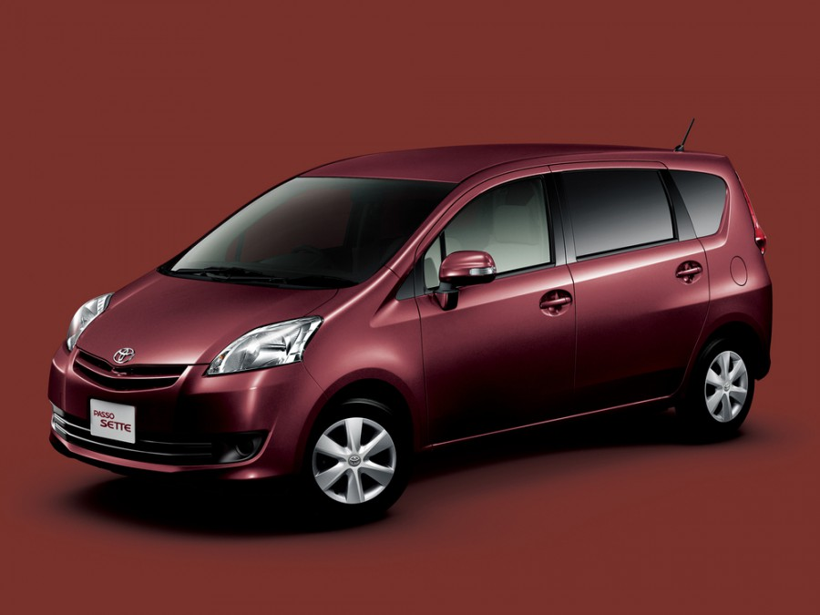 Toyota Passo Sette минивэн 5-дв., 2008–2012, 1 поколение - отзывы, фото и характеристики на Car.ru