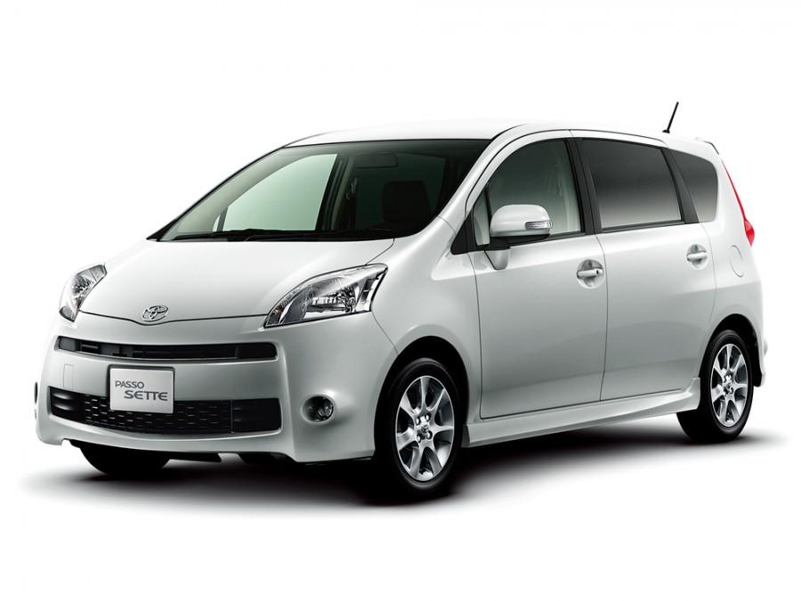 Toyota Passo Sette S минивэн 5-дв., 2008–2012, 1 поколение - отзывы, фото и характеристики на Car.ru