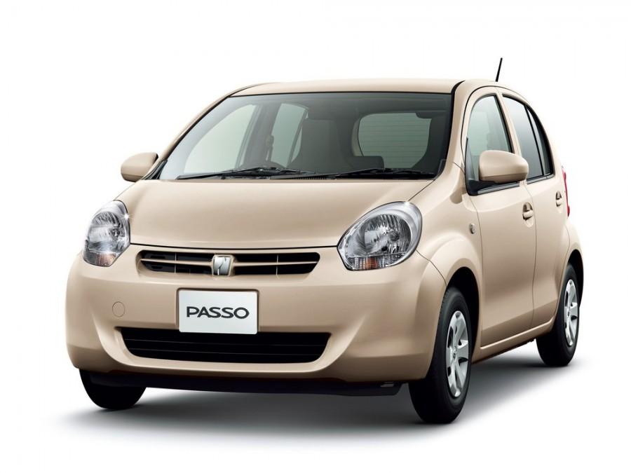 Toyota Passo хетчбэк, 2010–2016, 2 поколение - отзывы, фото и характеристики на Car.ru