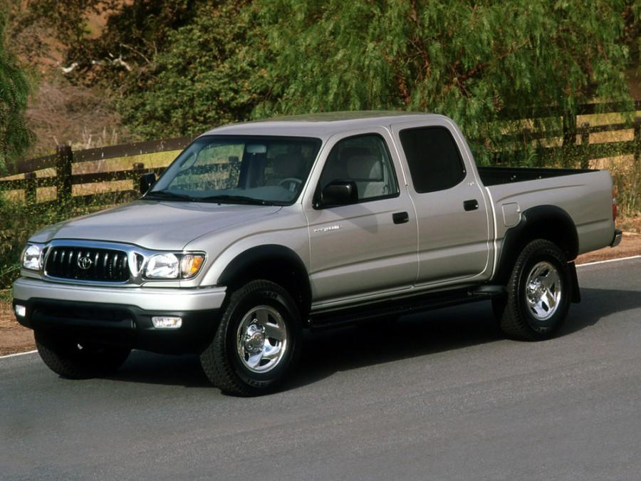 Toyota Tacoma Double Cab пикап 4-дв., 2001–2004, 1 поколение [2-й рестайлинг] - отзывы, фото и характеристики на Car.ru