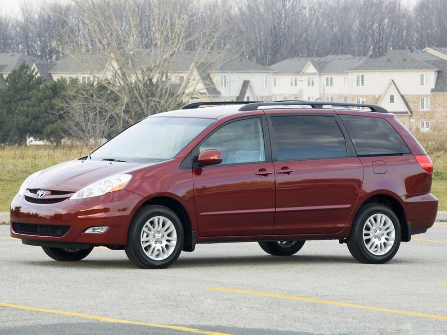 Toyota Sienna минивэн, 2006–2010, 2 поколение [рестайлинг] - отзывы, фото и характеристики на Car.ru