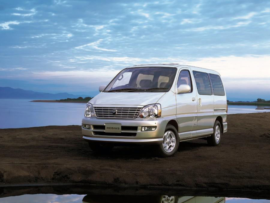Toyota Regius минивэн, 1999–2002, 1 поколение [рестайлинг] - отзывы, фото и характеристики на Car.ru