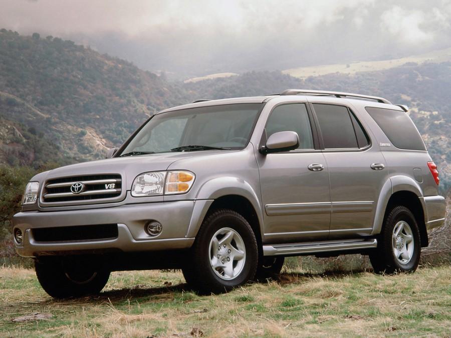 Toyota Sequoia внедорожник, 2001–2005, 1 поколение - отзывы, фото и характеристики на Car.ru