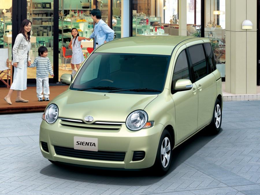 Toyota Sienta минивэн, 2006–2010, 1 поколение [рестайлинг] - отзывы, фото и характеристики на Car.ru