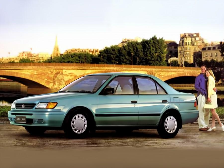 Toyota Soluna седан, 1 поколение - отзывы, фото и характеристики на Car.ru