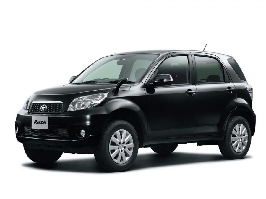 Toyota Rush кроссовер, 2008–2016, 1 поколение [рестайлинг] - отзывы, фото и характеристики на Car.ru