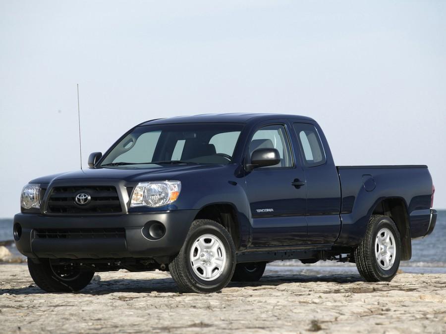 Toyota Tacoma Access Cab пикап 2-дв., 2005–2010, 2 поколение - отзывы, фото и характеристики на Car.ru