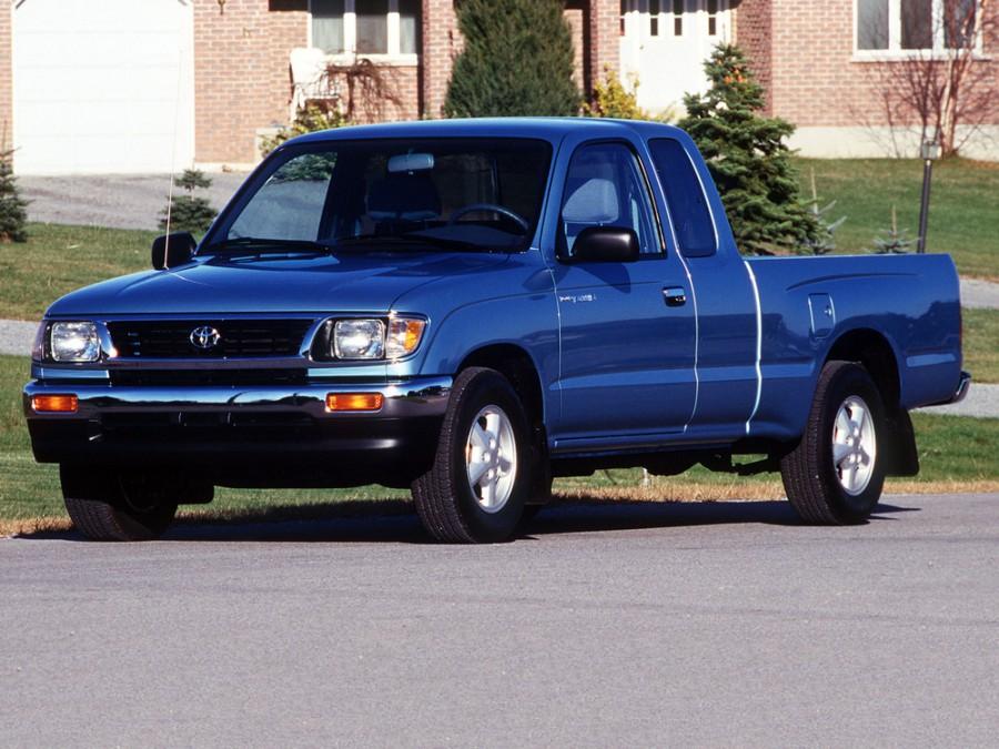 Toyota Tacoma Xtracab пикап 2-дв., 1995–1997, 1 поколение - отзывы, фото и характеристики на Car.ru